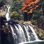 岩瀧寺の滝(江津市)