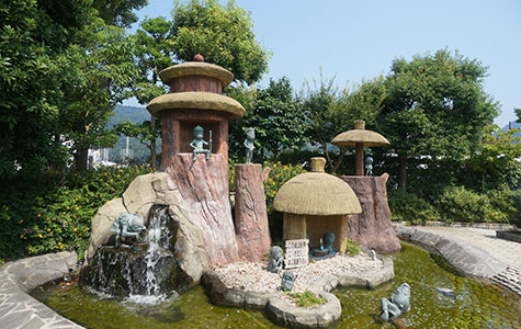 憩いのスペース・河童の泉