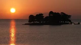 宍道湖の夕