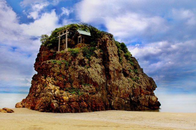 出雲の稲佐の浜