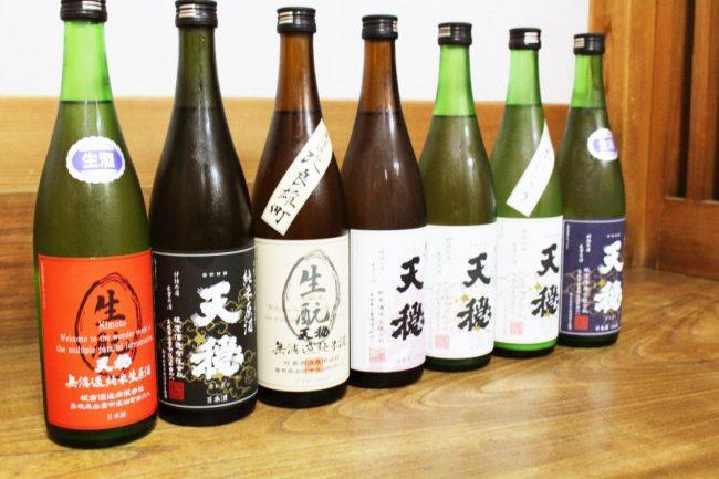 地元でも人気の日本酒である出雲の天穏