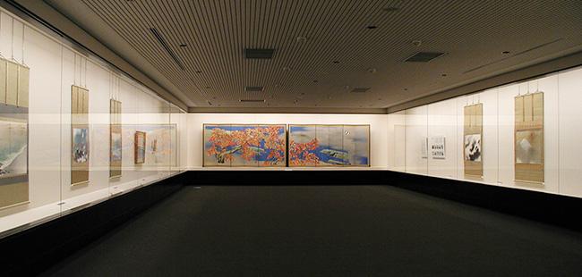 足立美術館 展示