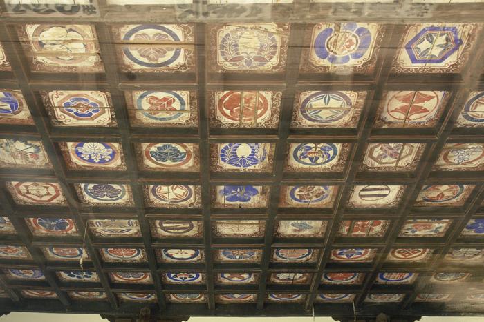清水寺本堂の格天井