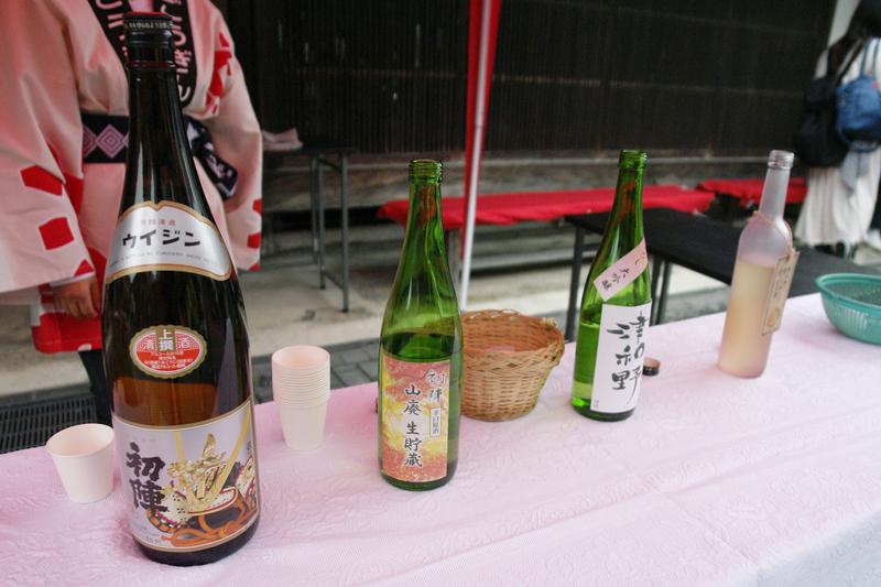 古橋酒造の地酒の数々