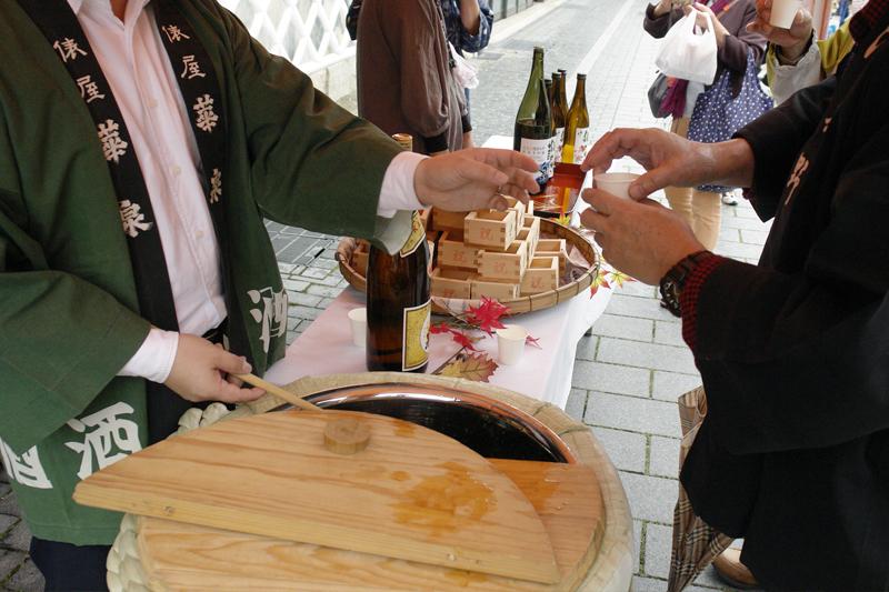 華泉酒造の地酒の数々