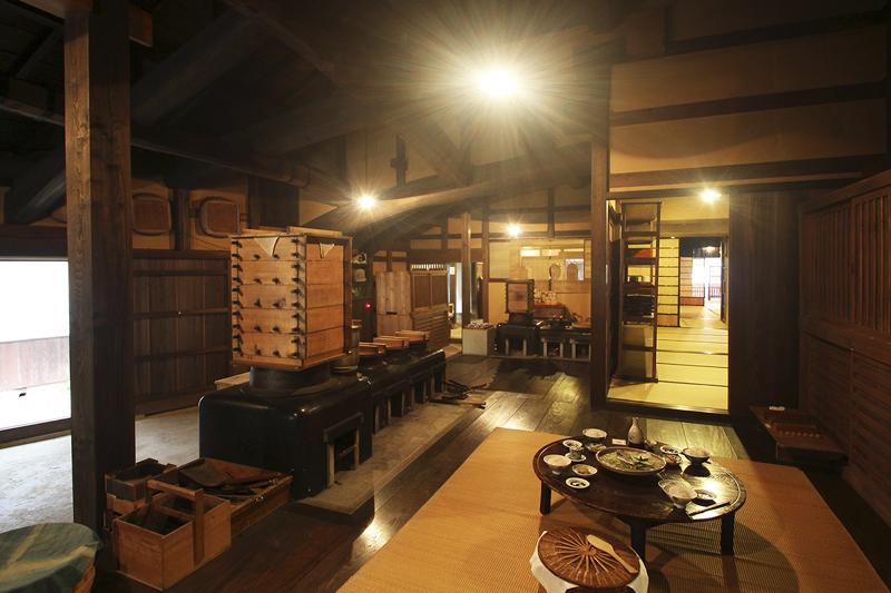 熊谷家住宅の台所