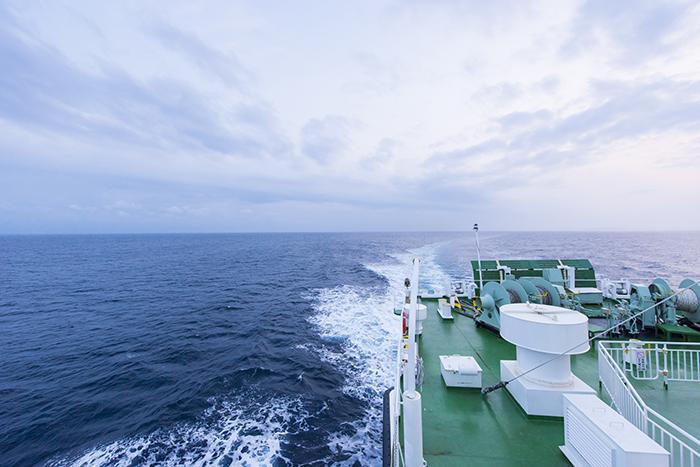 隠岐の船旅 フェリーからの絶景