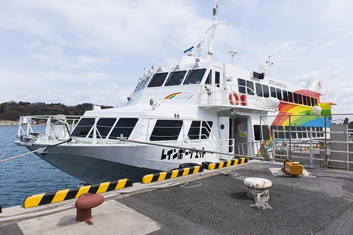 隠岐の船旅 高速船レインボージェット