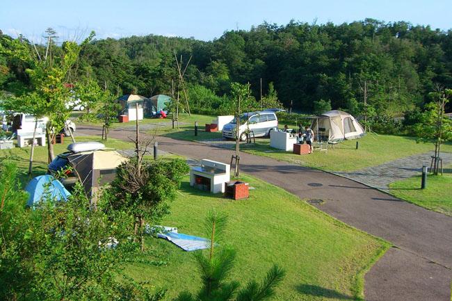 島根県立万葉公園オートキャンプ場