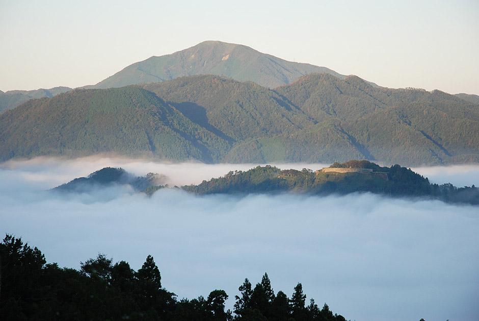 津和野城跡の雲海
