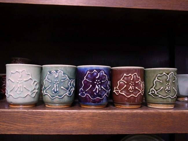 5色の釉薬