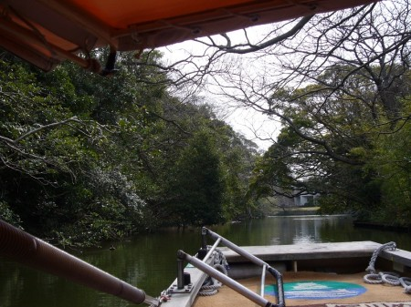 Horikawa boat trip