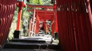 Approach way to the shrine