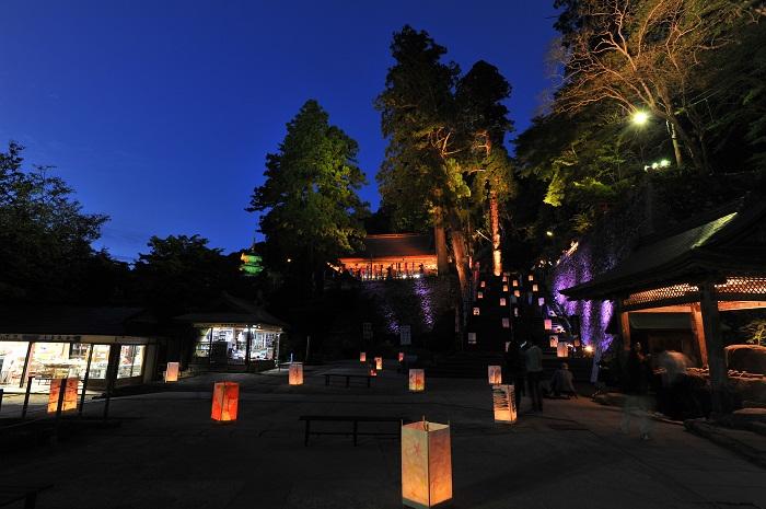 Kiyomizudera Tosando Lightup event