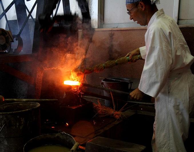 Iron making in Okuizumo