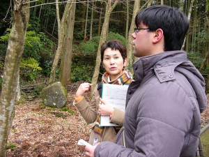 English Guide at Iwami Ginzan