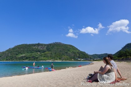 beach in Oki