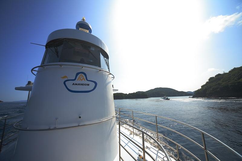 Amanbow Underwater Boat