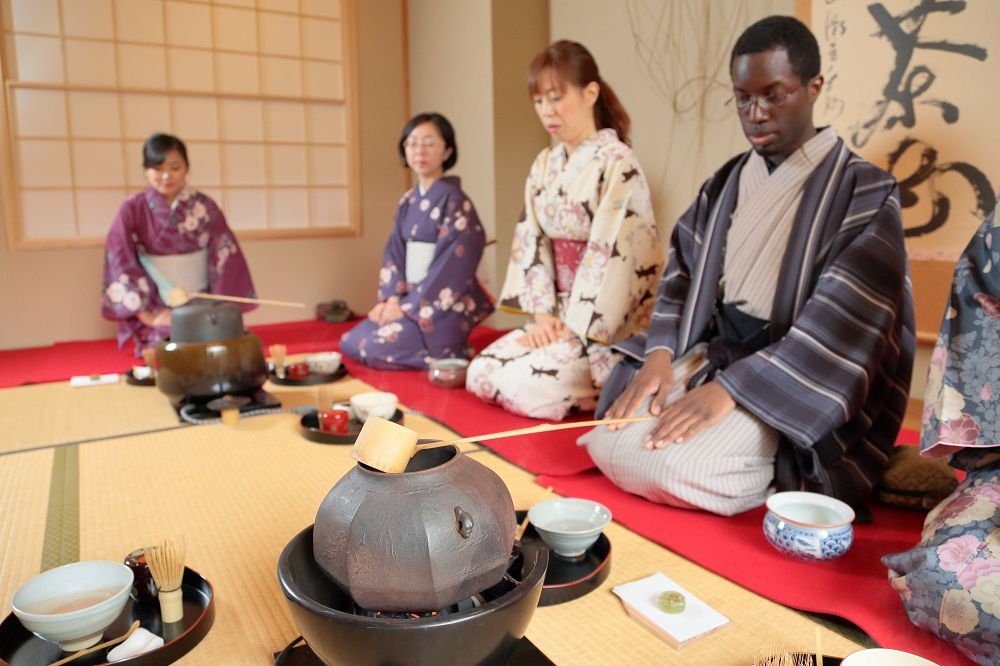 Tea ceremony @Senchaso