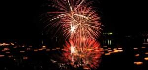 Go-nokawa River Fireworks Festival