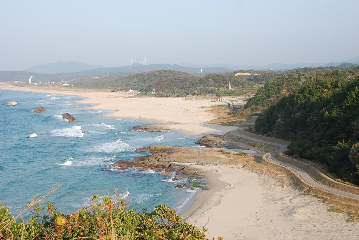 Iwami Seaside Park Beach