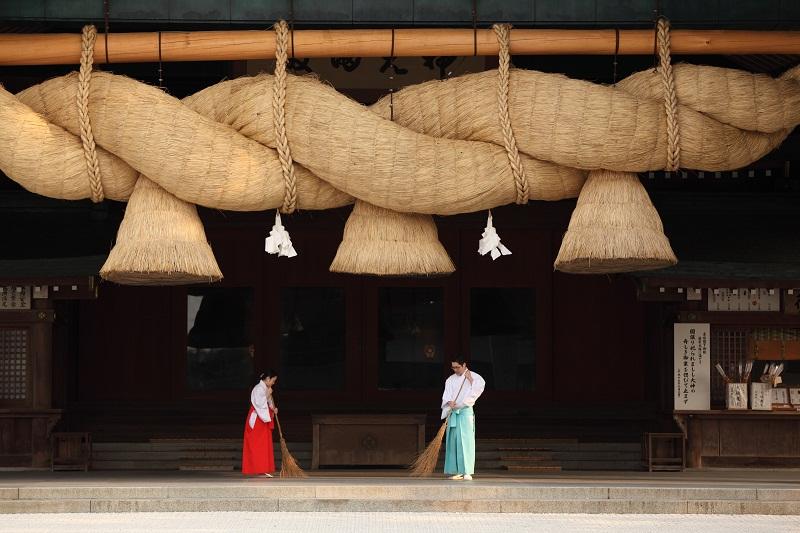 Kaguraden (Sacred Dance Hall) Izumo Taisha