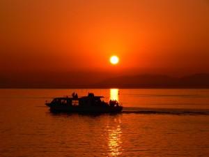 Lake Shinji sunset cruise