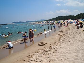 石見海浜公園海水浴場