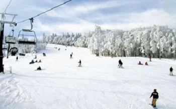mizuho ski run snow