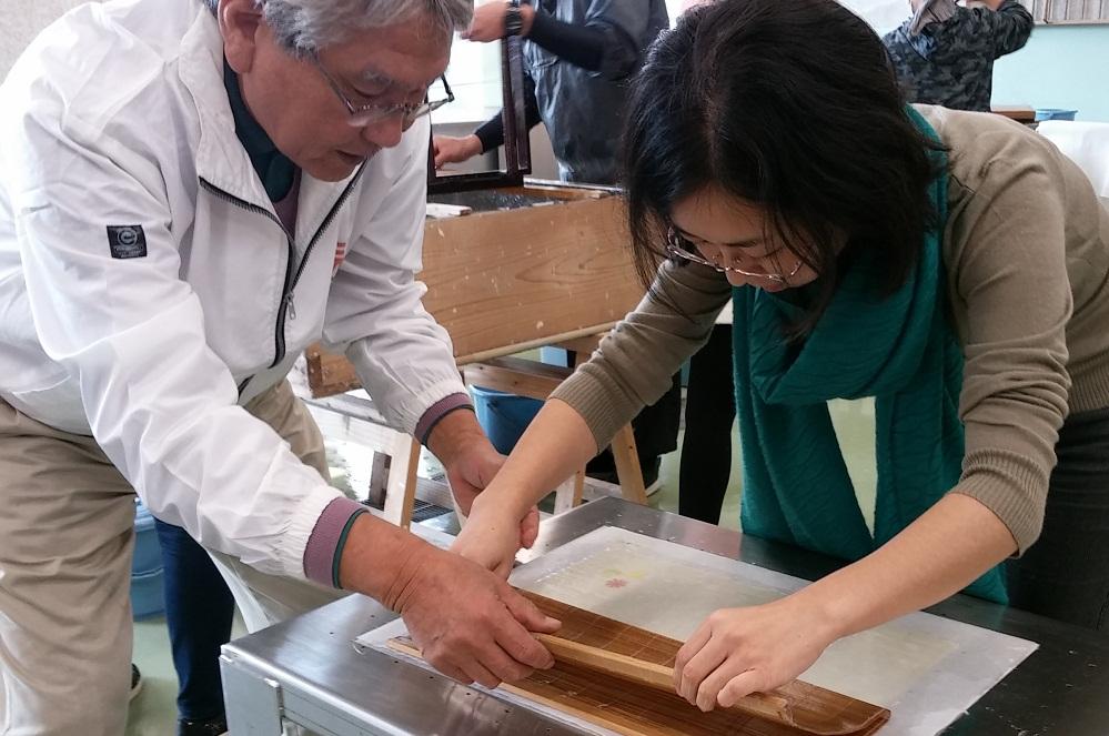 sekishu paper making