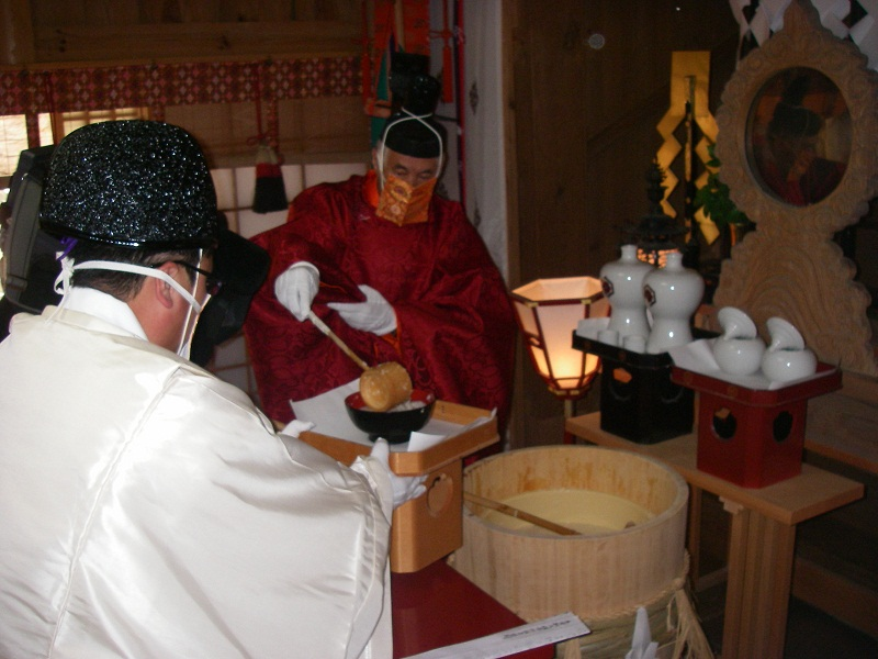 Saka Shrine ritual