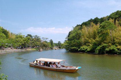 shimane-horikawa sightseeing boat