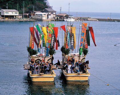 Mihonoseki Aofushigaki Ritual