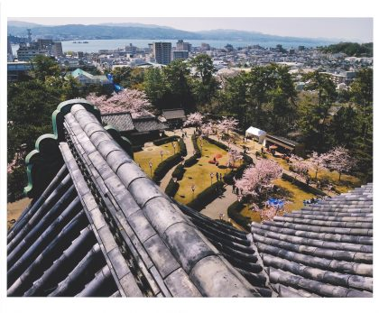 view from Matsue Castle