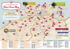 Shimane Drive Time Map