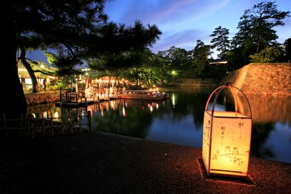 Matsue Water Lantern Festival