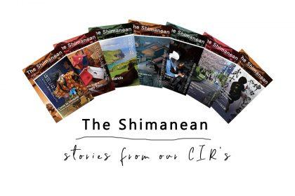 Shimanean magazine spread