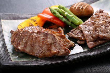 Shimane wagyu beef cooked