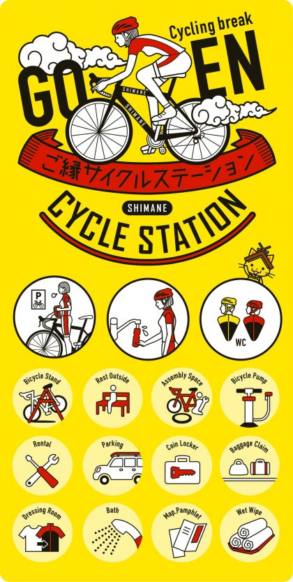 Goen Cycle Station Sticker