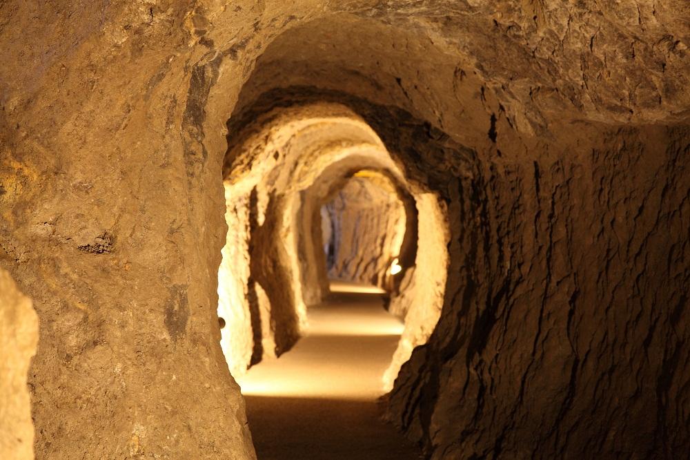 Le tunnel Ryûgenji de la mine d'argent d'Iwami Ginzan