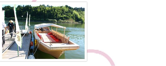 八尾川かっぱ遊覧船