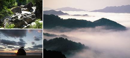 自然と文化体験コースの写真