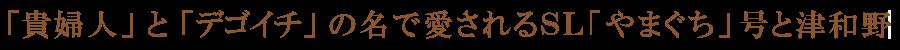 「貴婦人」と「デゴイチ」の名で愛されるSL「やまぐち」号と津和野