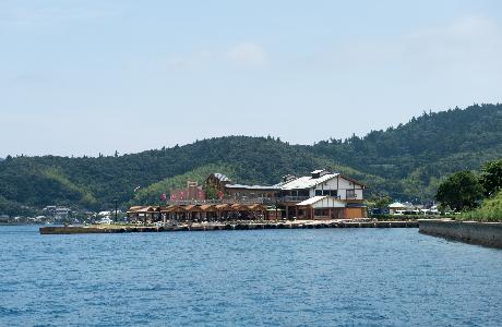 菱浦港(海士町)