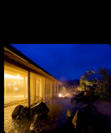 夜の幻想的な風景にうっとり♡