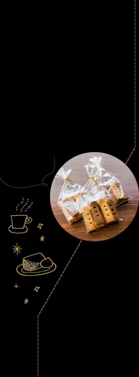 オリジナルの日御碕灯台クッキーもかわいい♪