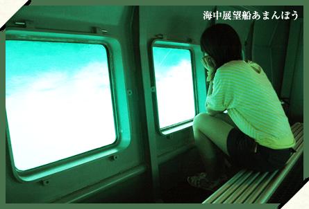 海中展望船あまんぼう