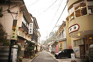 温泉津温泉街