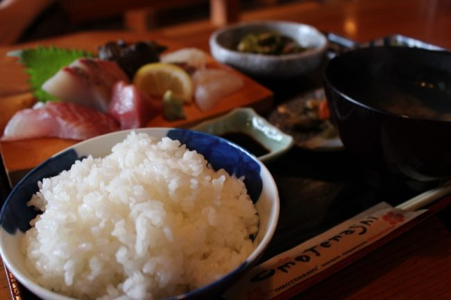 仁多米のご飯