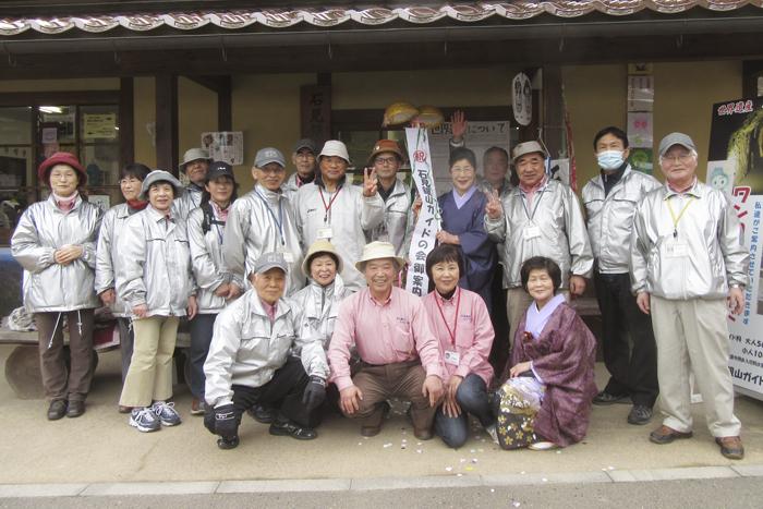 石見銀山ガイドの会の集合写真